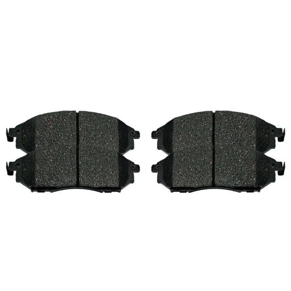 Front Ceramic Brake Pad Set - Part # SCD888A