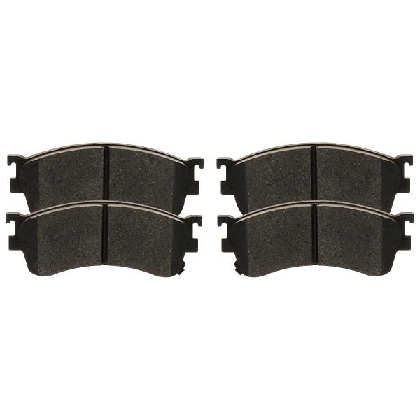 Front Ceramic Brake Pad Set - Part # SCD893