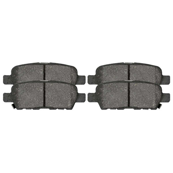Rear Ceramic Brake Pad Set 4 Wheel Disc - Part # SCD905