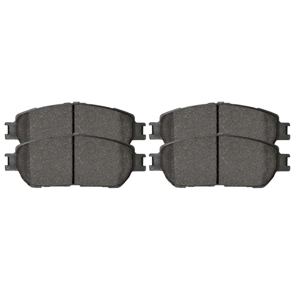 Front Ceramic Brake Pad Set - Part # SCD906