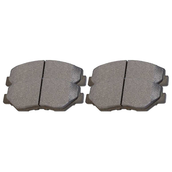 Front Ceramic Brake Pad Set - Part # SCD914