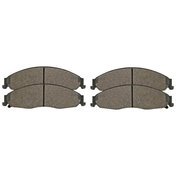 Front Ceramic Brake Pad Set - Part # SCD921
