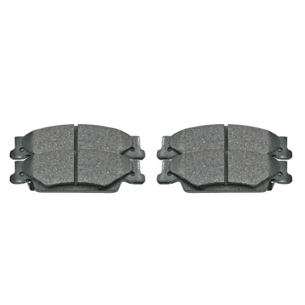 Rear Ceramic Brake Pad Set - Part # SCD922