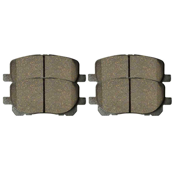 Front Ceramic Brake Pad Set - Part # SCD923