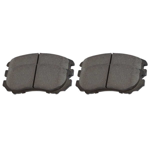Front Ceramic Brake Pad Set - Part # SCD924
