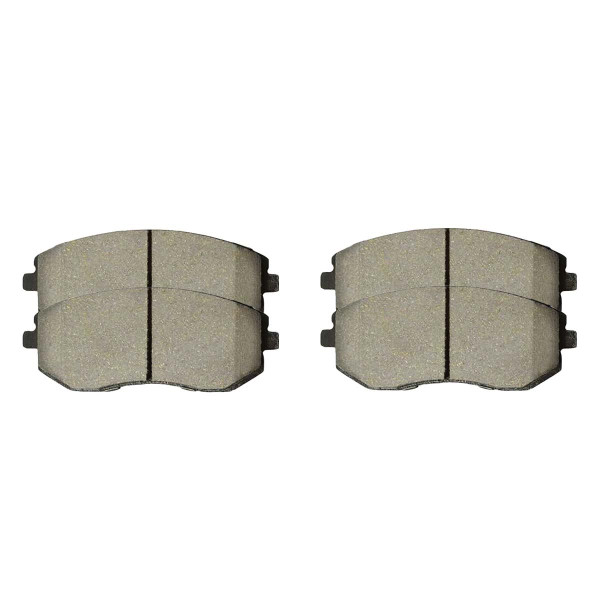 Front Ceramic Brake Pad Set - Part # SCD929