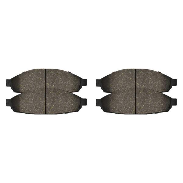 Front Ceramic Brake Pad Set - Part # SCD931