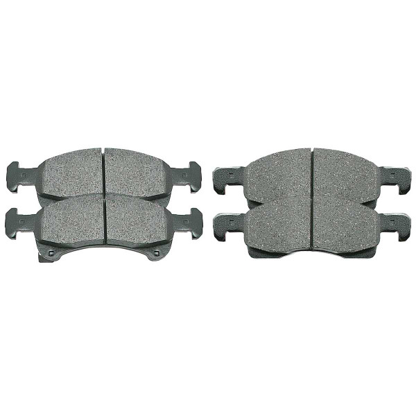 Front Ceramic Brake Pad Set - Part # SCD934