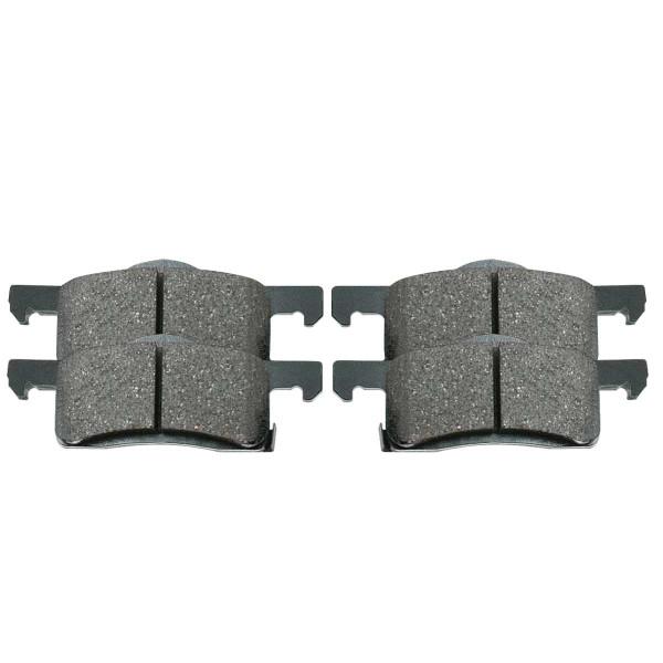 Rear Ceramic Brake Pad Set - Part # SCD935