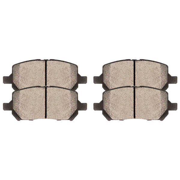 Front Ceramic Brake Pad Set - Part # SCD956