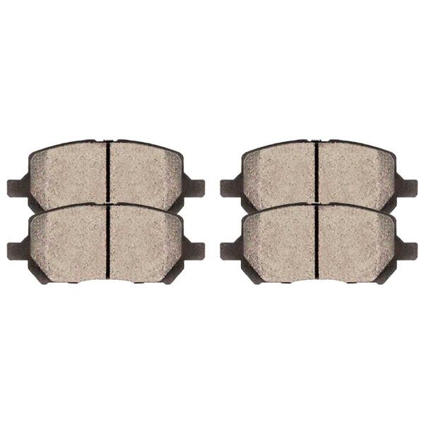 Front Ceramic Brake Pad Set - Part # SCD956