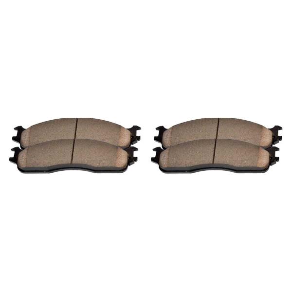 Front Ceramic Brake Pad Set - Part # SCD965