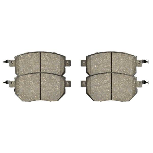 Front Ceramic Brake Pad Set - Part # SCD969