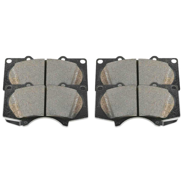 Front Ceramic Brake Pad Set - Part # SCD976