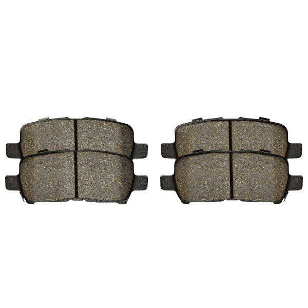 Rear Ceramic Brake Pad Set - Part # SCD999