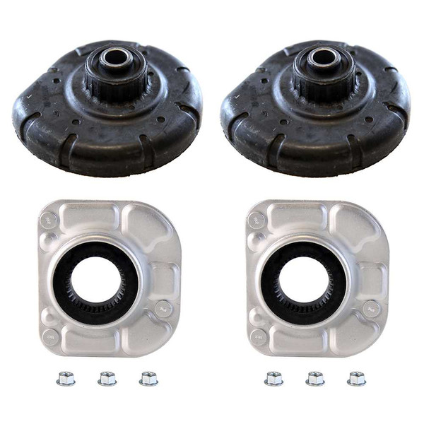 2 Front Strut Mounts 2 Coil Spring Seats - Part # SM4905-KM9710