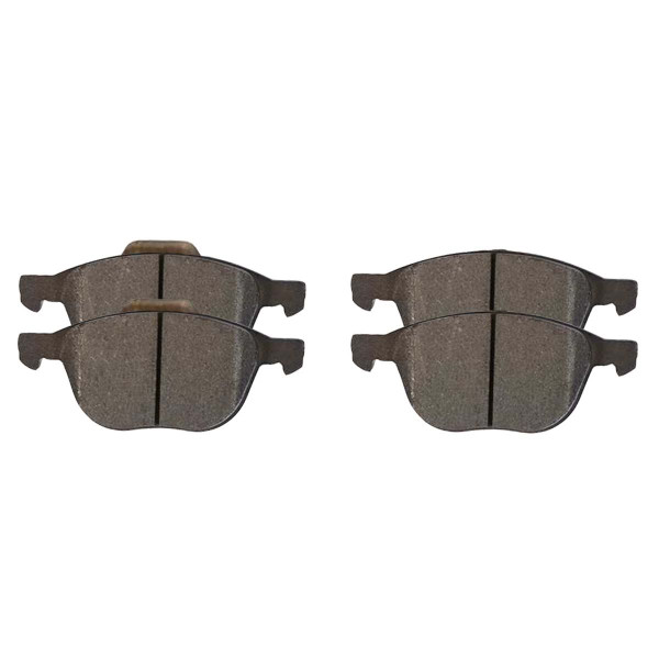 Front Semi Metallic Brake Pad Set - Part # SMK1044