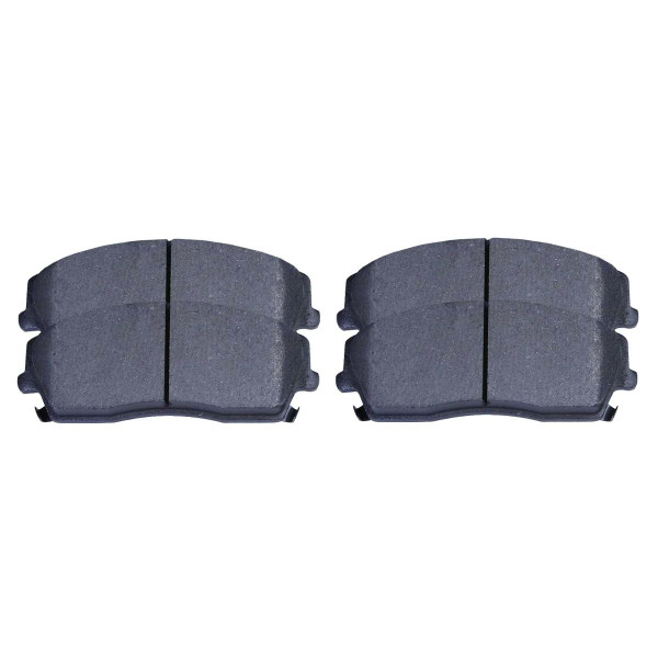Front Semi Metallic Brake Pad Set - Part # SMK1056