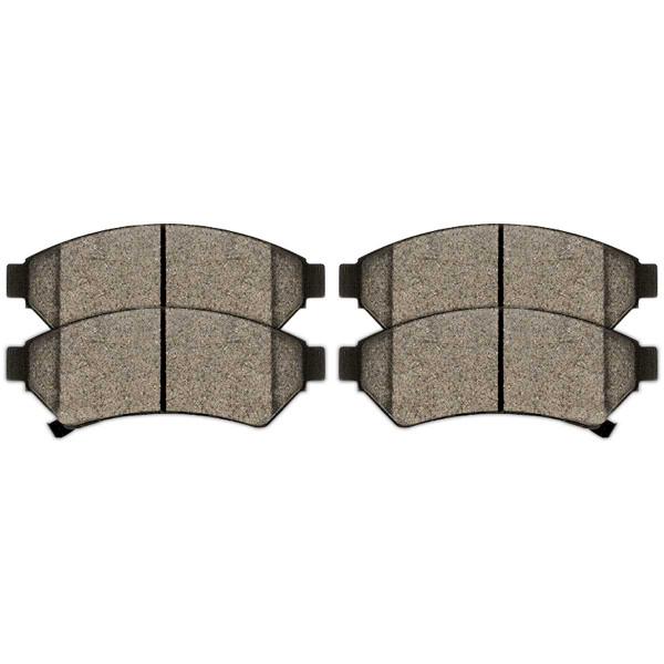 Front Semi Metallic Brake Pad Set - Part # SMK1075