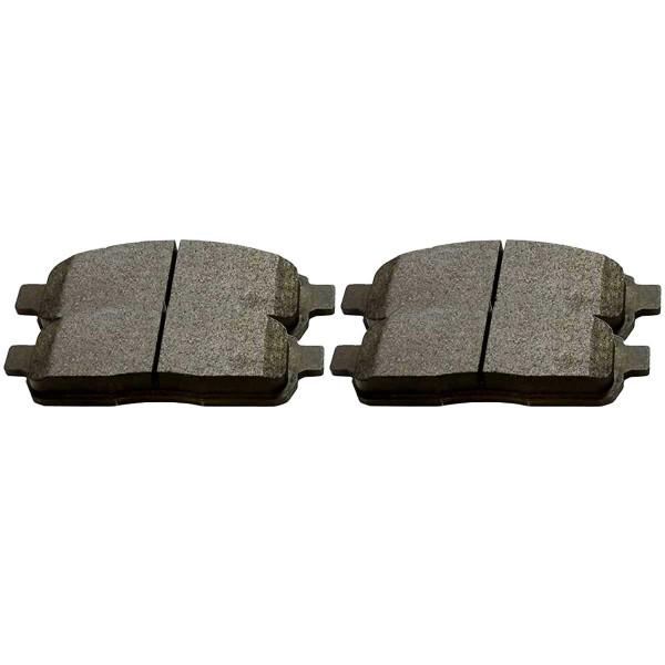 Front Semi Metallic Brake Pad Set - Part # SMK1083