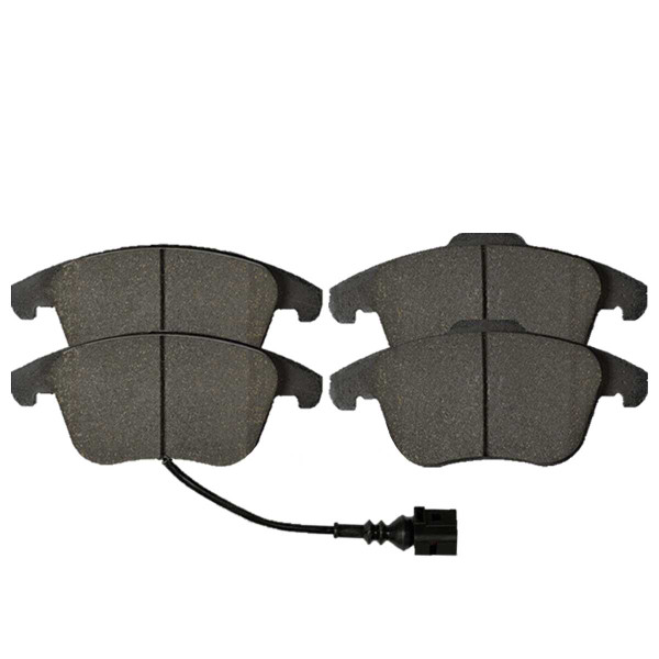 Front Semi Metallic Brake Pad Set - Part # SMK1107