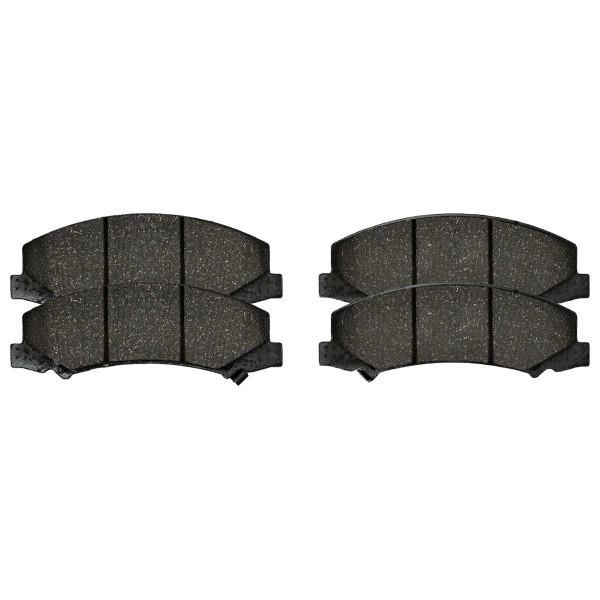 Front Semi Metallic Brake Pad Set - Part # SMK1159