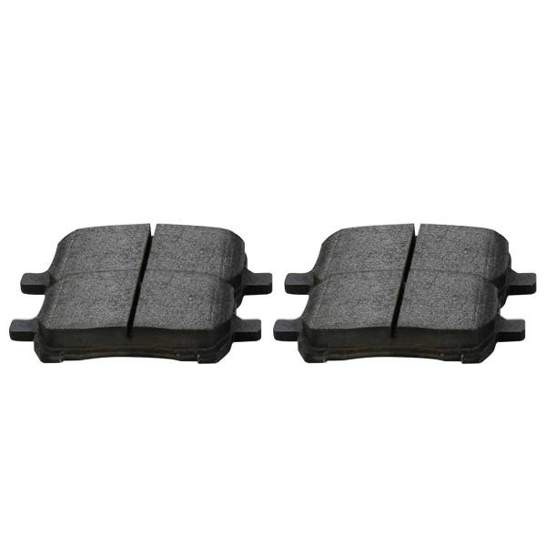 Front Semi Metallic Brake Pad Set - Part # SMK1160