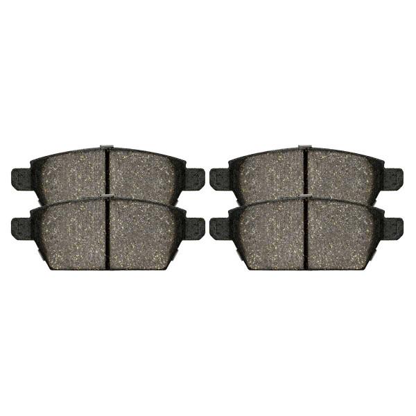 Rear Semi Metallic Brake Pad Set - Part # SMK1161