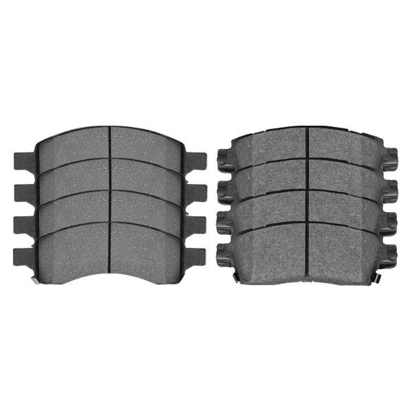 Front and Rear Semi Metallic Brake Pad Bundle - Part # SMK1169-883