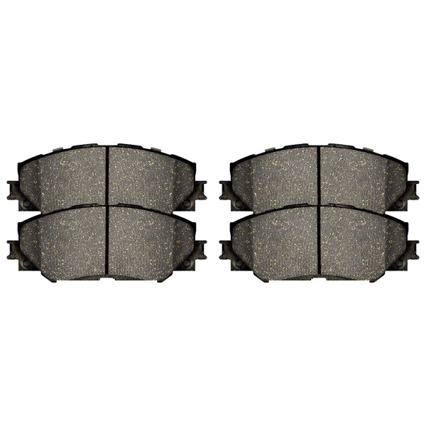 Front Semi Metallic Brake Pad Set - Part # SMK1210