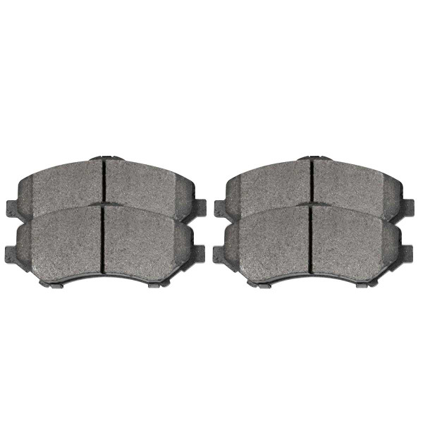 Front Semi Metallic Brake Pad Set - Part # SMK1273