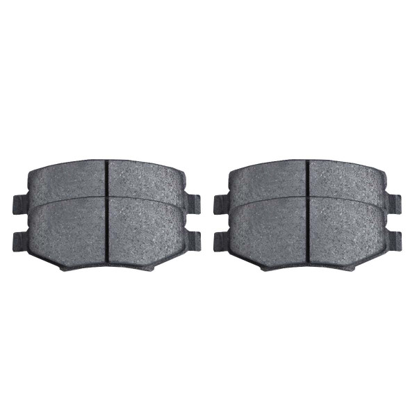 Rear Semi Metallic Brake Pad Set - Part # SMK1274