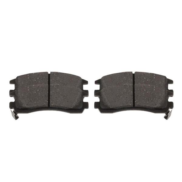 Rear Semi Metallic Brake Pad Set 4 Wheel Disc - Part # SMK698