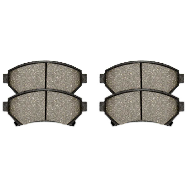 Front Semi Metallic Brake Pad Set - Part # SMK699