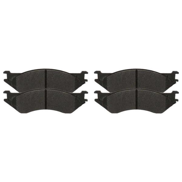 Front Semi Metallic Brake Pad Set - Part # SMK702