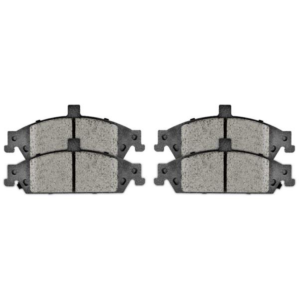 Front Semi Metallic Brake Pad Set - Part # SMK727