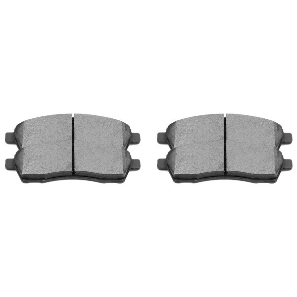 Rear Semi Metallic Brake Pad Set - Part # SMK757