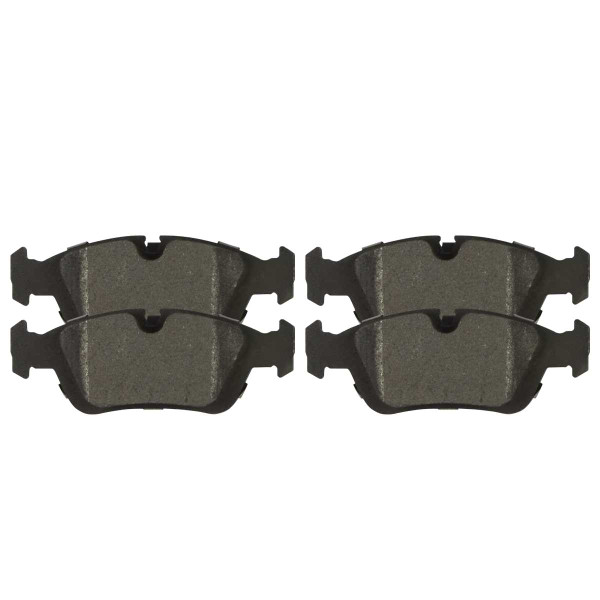 Front Semi Metallic Brake Pad Set - Part # SMK781