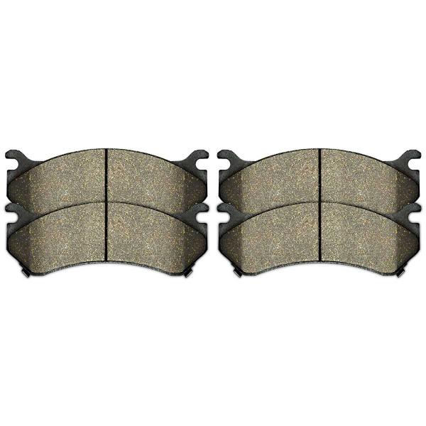 Front Semi Metallic Brake Pad Set - Part # SMK784