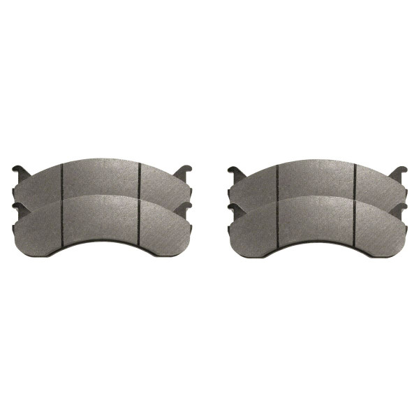Semi Metallic Brake Pad Set - Part # SMK786