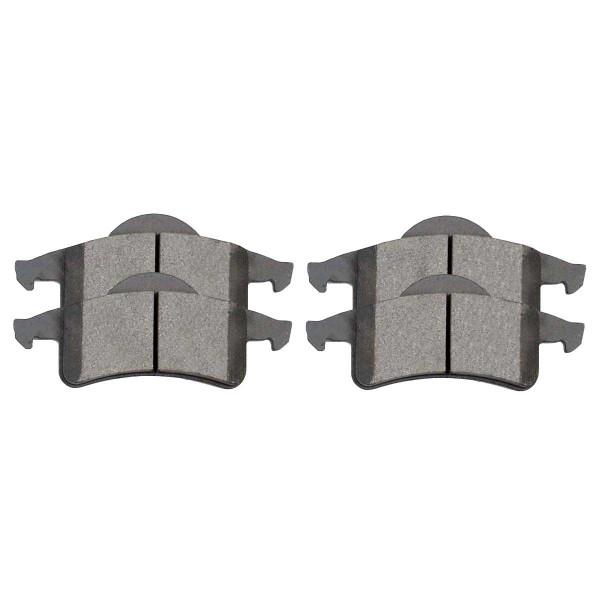Rear Semi Metallic Brake Pad Set - Part # SMK791