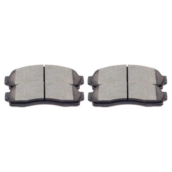 Front Semi Metallic Brake Pad Set - Part # SMK833