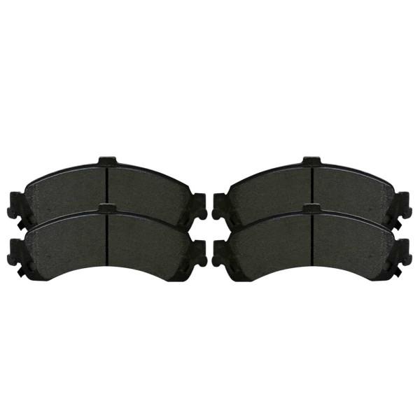 Rear Semi Metallic Brake Pad Set 4 Wheel Disc - Part # SMK834