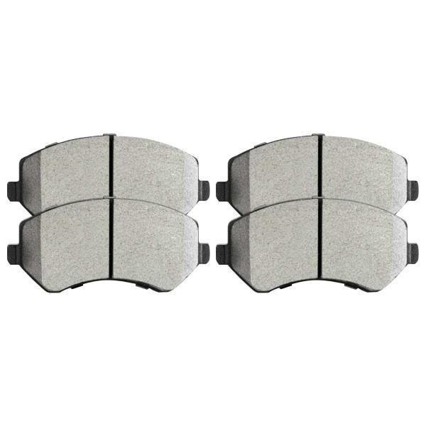 Front Semi Metallic Brake Pad Set - Part # SMK856A