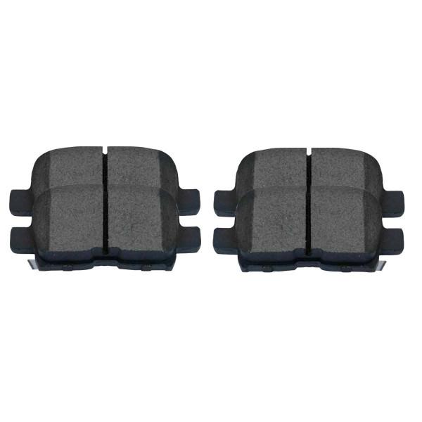 Rear Semi Metallic Brake Pad Set - Part # SMK865