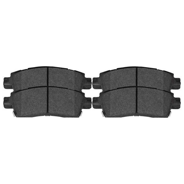 Rear Semi-Metallic Brake Pad Set - Part # SMK883