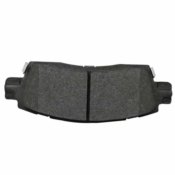 Rear Semi Metallic Brake Pad Set - Part # SMK883
