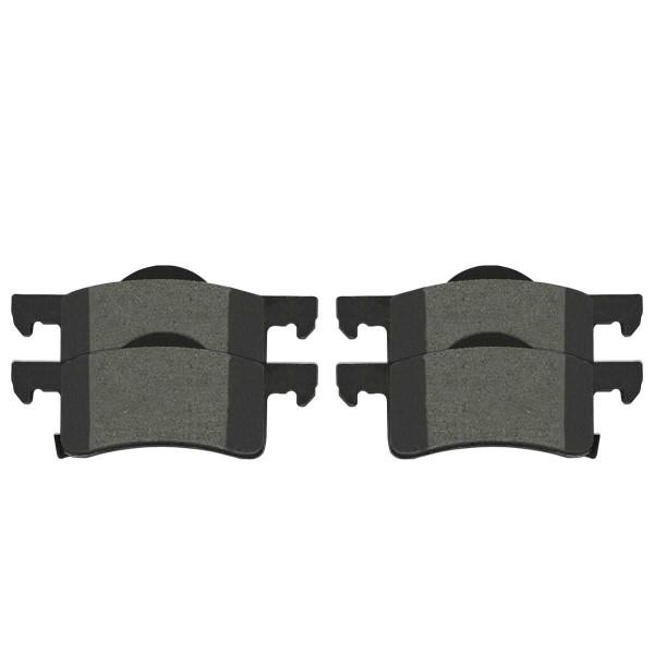 Rear Semi Metallic Brake Pad Set - Part # SMK935