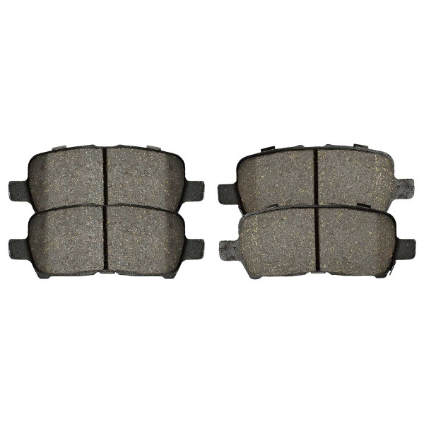 Rear Semi Metallic Brake Pad Set - Part # SMK999