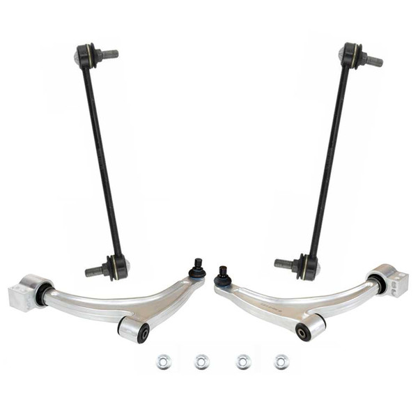2 Control Arms & 2 Sway Bar Links - Part # SUSPPK01535